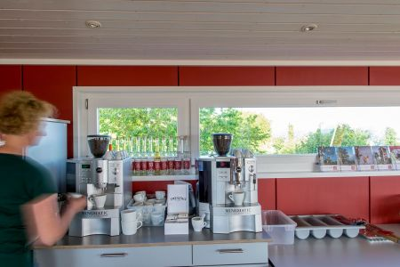 Baumhaus Kaffeemaschine Archehof Neuhof