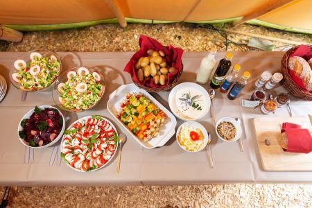 Salatbuffet Event Archehof Neuhof