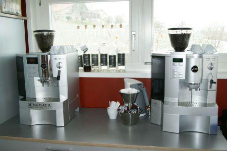 Baumhaus Kaffeemaschine Kaffeepause Archehof Neuhof